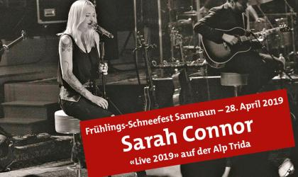 "31. Int. ""Spring Snow Festival"" with SARAH CONNOR in Samnaun"