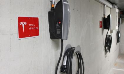 Charging stations for TESLA & e-car's at Chasa Montana Hotel & Spa****S