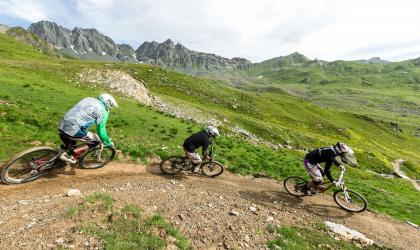 New Freeride-Trail Alp Trida - Samnaun-Laret