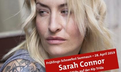 Sarah Connor am 28. April 2019 in Samnaun