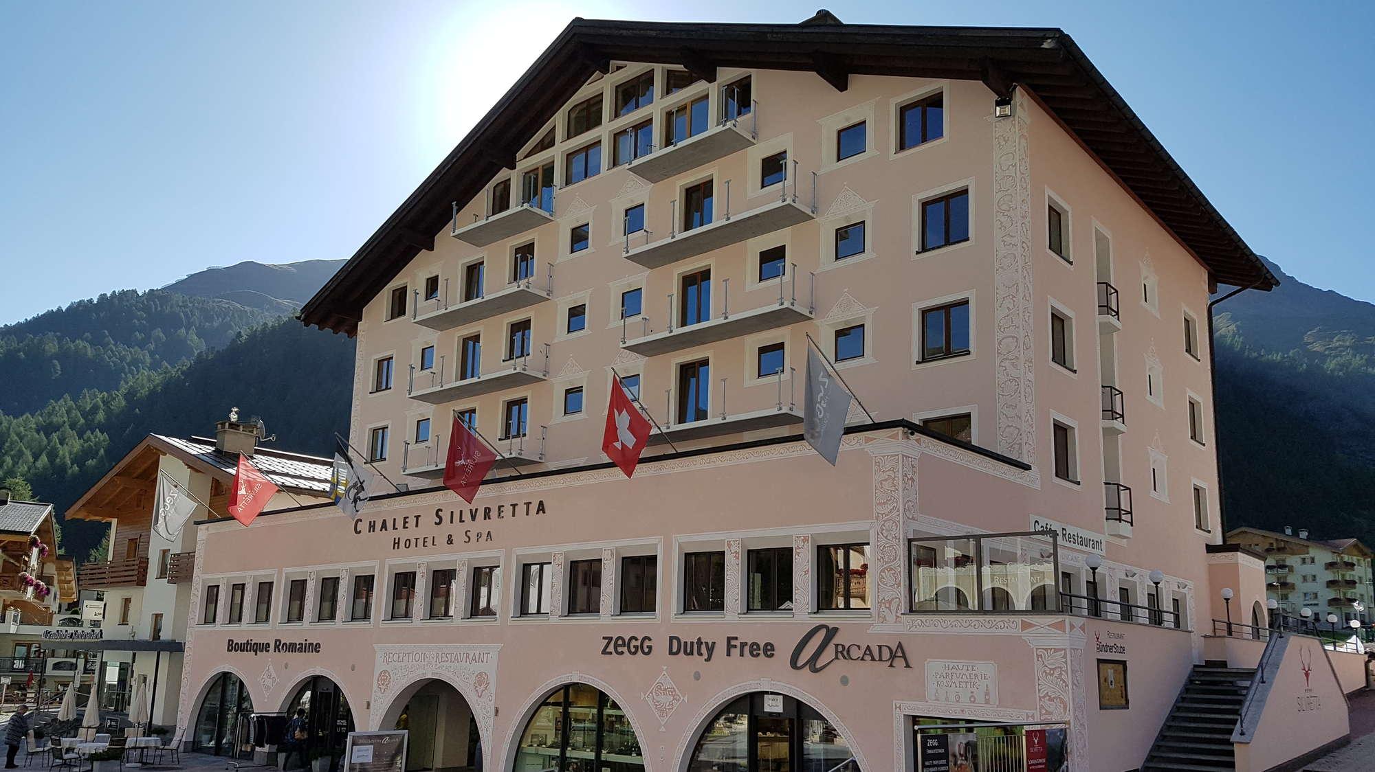 Bildergalerie Hotel Chalet Silvretta Hotel Spa